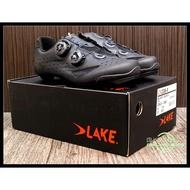 【online bike】線上單車 LAKE CX238 寬楦 卡鞋 黑色