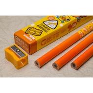 【康庭文具】LIBERTY 利百代 CB-207 Q比天使  2B 學齡前 抗菌 大三角筆桿 鉛筆 3支入盒裝