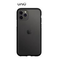 UNIU 矽膠軍規防摔殼 iPHONE 11 系列 透黑