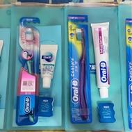買一送一 Oral-B 歐樂B 牙刷+牙膏+牙線 隨行組