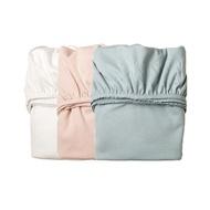 丹麥 Leander 嬰兒成長床配件 床包(2入)3色可選 好窩生活節