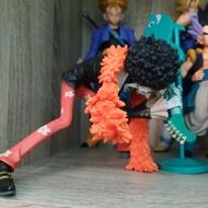代理版 景品 海賊王 寫真家×造型師 CREATOR×CREATOR 布魯克 搖滾之神砸吉他