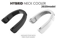 日本代購 空運 Hybrid neck cooler 頸掛式 風扇 電風扇 掛脖 降溫器 3段風量 USB充電式 不纏髮