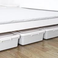 特大號床底收納箱扁平抽屜式塑料收納盒子床下整理箱