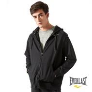 【EVERLAST】男款風衣外套-黑色