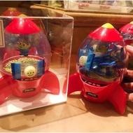 《朋友禮品》日本 東京迪士尼樂園 玩具總動員 三眼怪 火箭筒 火箭糖果罐 置物罐 收納罐 收納盒 糖果盒
