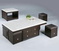 【尚品傢俱】629-91 石面胡桃色大茶几~另有小茶几/客廳桌/會晤桌/洽談桌/家庭桌/辦公室休憩桌/Table