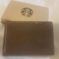 星巴克300店紀念麂皮卡套 證件套 Starbucks