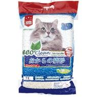『WANG』【單包】《ECO艾可豆腐貓砂-原味|綠茶|玉米》7L/包 貓砂 環保 除臭