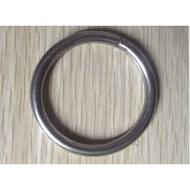 304不鏽鋼圓環 焊接環 不鏽鋼環  白鐵環