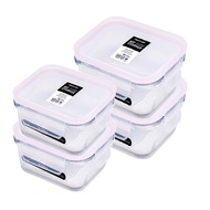 NEOFLAM 專利無膠條保鮮盒食尚4入組