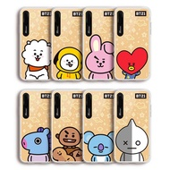 BT21 iPhone X Mirror lighting case