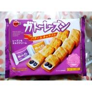 BOURBON 北日本 奶油焦糖葡萄餅乾 奶油&焦糖雙口味170g