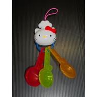【現貨】hello kitty麥當勞玩具量匙/兒童玩具/kitty蘋果量匙/安全兒童玩具/扮家家酒玩具