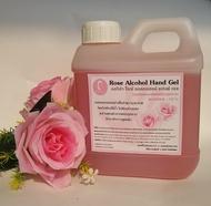 Orisa - Rose Alcohol Hand Gel - 1000 ml เจลล้างมือแอลกอฮอล์กลีบกุหลาบ ขนาด 1 ลิตร