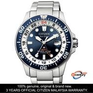 Citizen BJ7111-86L Men's Eco-Drive Promaster GMT Divers 200M Super Titanium Watch