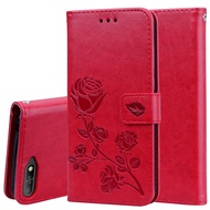 For Huawei Y6 2018 Case Flip Leather Case For Huawei y6 prime 2018 Luxury Wallet Cover 3D Flower Case For Huawei y6 prime 2018
