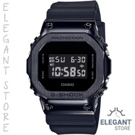 Casio G-Shock GM-5600B-1 Black ion plated Stainless steel bezel Men's Sports Watch