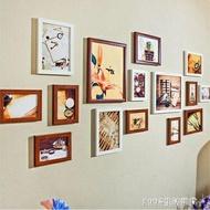 相框組合 客廳懸掛15框照片牆相框牆組合 臥室復古創意相片牆歐式掛牆