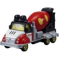 大賀屋 日貨 DM-14 米奇 水泥車 混泥車 多美小汽車 Tomica 迪士尼 米老鼠 正版 L00010922