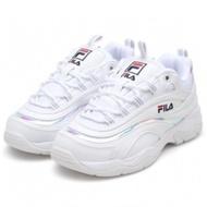 Fila Ray 휠라레이 韓版 全白 雷射 老爹鞋FS1SIA3060X-WWT剩 22 23 27 [Q1現貨]