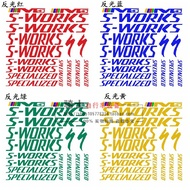 Bike Stickers Reflective Bicycle Decal Sticker
