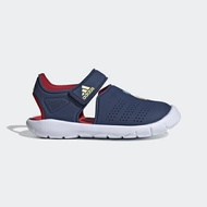 Adidas Fortaswim Stripes C [FW6051] 中童鞋 涼鞋 游泳 魔鬼氈 排水 唐老鴨 藍 紅