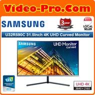 Samsung LU32R590CWEXXS 31.5Inch 3840x2160 UHD Curved Monitor