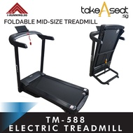 TM-588 Foldable Treadmill ★ Jogging ★ Running ★ Home Gym ★ Indoor Exercise ★ Manual Incline