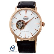 Orient FAG02002W0 Automatic Open Heart Analog Japan Movt  Leather Men's Watch