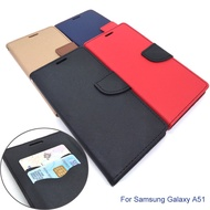 Samsung Galaxy A51 Wallet Leather Flip Cover Case