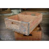 美國古董CANADA DRY老木箱 復古舊木箱 [BOX-0226]