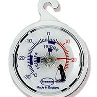 White Dial Fridge Thermometer