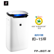 SHARP 夏普 空氣清淨機 FP-J60T-W