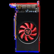 藍寶石AMD RX580 4g滿血版2304SP臺式機獨立游戲顯卡570 590吃雞