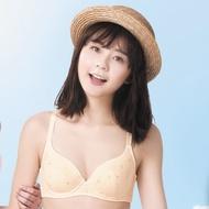 華歌爾 環保系列有機棉 D-E 罩杯內衣(天然黃)