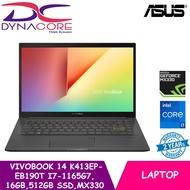 【Ready Stock】 ASUS VivoBook 14 K413EP-EB190T   Ultra Slim-1.4Kg   i7-1165G7   16GB DDR4   512GB PCIe SSD  MX330 Graphics
