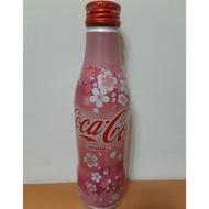 可口可樂 可樂 鋁罐收藏瓶曲線瓶 250ml 紀念瓶 汽水 限定版 櫻花限定版 20元