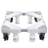 洗衣機底座全自動波輪滾筒通用滑輪支架小冰箱不鏽鋼墊高托架