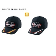 GAMAKATSU.釣魚帽.GM-9806.黑金/黑白