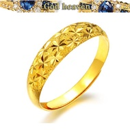 916 916gold ring local 916gold female models adjustable size starry ring