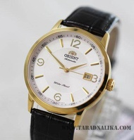 นาฬิกา Orient Automatic Classic สายหนัง ORER27004W เรือนทอง สายหนัง