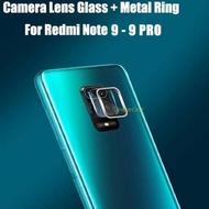 Harga Hemat ➘ Redmi Note 9 - Redmi Note 9 Pro Ring Camera Protector ❁LB6☠