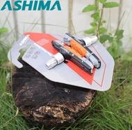 Ashima AP65 Brake Pads for Shimano XTR Deore XT Mountain Bike Folding Bike Caliper Sheer Braking Perfection Inserts Block V Type System