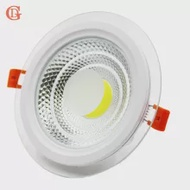 GD 4pcs COB LED Downlight หรี่แสงได้ 5W 7W 10W 12W 15W รอบ LED แผง AC85-265V โคมไฟ LED COB Light W/DRIVER
