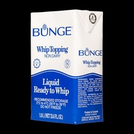 Bunge or Ever whip Whipping Cream