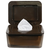 Hickies Simple Wet Tissue Dispenser Dark Brown