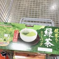 好市多 科克蘭 綠茶 抹茶包 日本綠茶包 日式日式綠茶1.5g*100包 kirkland 伊藤園代工 #1169345