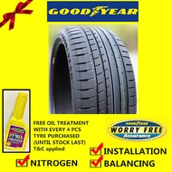 Goodyear Eagle F1 Asymmetric 2 SUV tyre tayar tire(With Installation)235/55R19 255/50R19 255/55R19 265/50R19 285/45R20 265/45R20