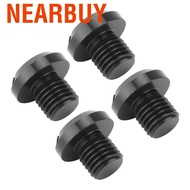 Nearbuy Suuonee Mirror Hole Plugs 2 Pair of M10x1.25 Rearview Side Screw Motorcycle Accessories Fits for Ducati Hypermotard